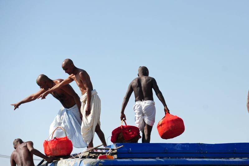 Indijoje nuodėmes Gangoje nusiplovė 120 milijonų tikinčiųjų
