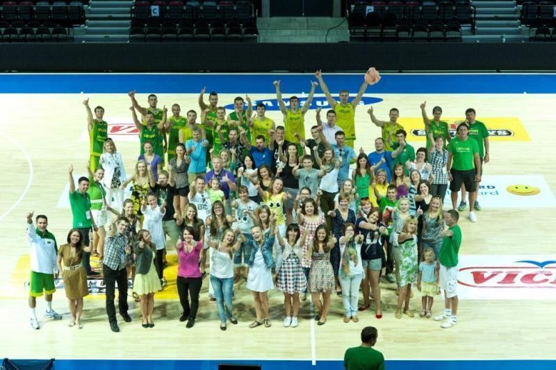 Čempionatas savanoriams - ir darbas, ir malonumas