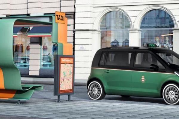 "Hanoverio mugė 2010: ""Volkswagen"" pristatė ""Milano taksi"""