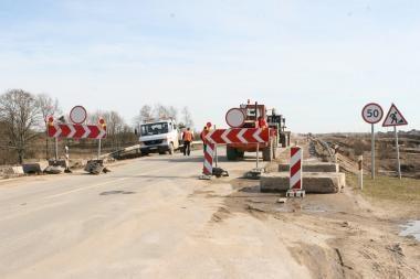 Kelyje į Palangą neliks posūkių į kairę