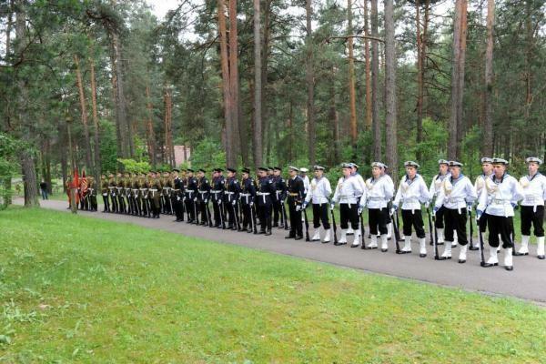 Panerių memoriale - Lietuvos vietinės rinktinės karių pagerbimo ceremonija