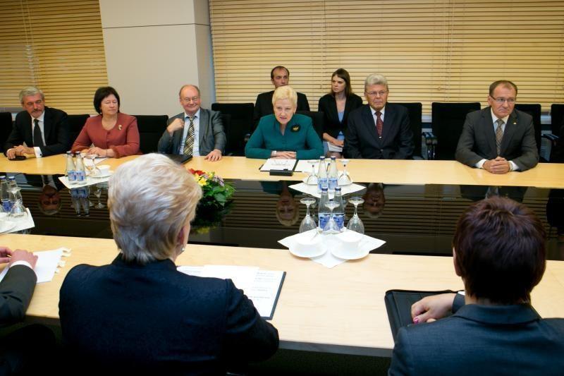 D.Grybauskaitė: Konstitucinio Teismo sprendimų nekomentuoju