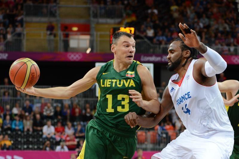 Atkakliai priešinęsi prancūzams lietuviai pralaimėjo 74:82
