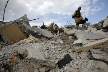 Serbijoje per žemės drebėjimą du žmonės žuvo, o dar 50 nukentėjo