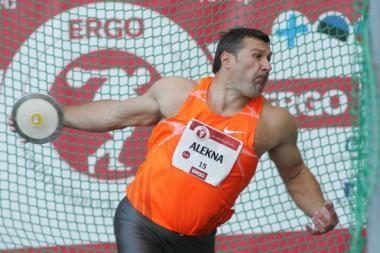 Disko metikas V.Alekna pagerino sezono asmeninį rekordą