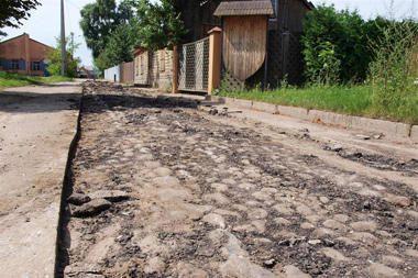 Senovinis grindinys Panevėžyje vėl bus palaidotas?