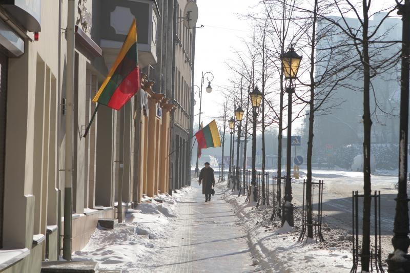 Valstybės atkūrimo dieną vėliavų Klaipėdoje nekėlė įmonės, konsulatai