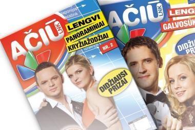 LNK išleido du kryžiažodžių žurnalus