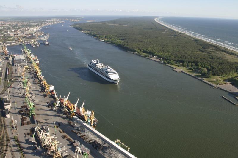 Pasirašyta sutartis dėl Klaipėdos uosto kanalo gilinimo