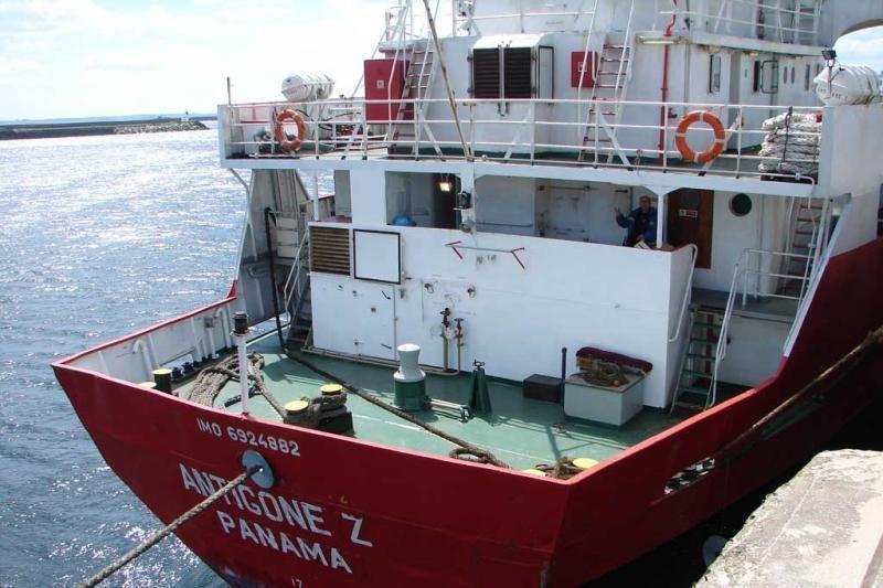 Prancūzijos uoste lietuvių jūreiviai protestuoja dėl nesumokėtų algų