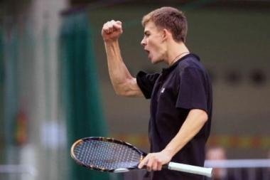 Sėkmingas L.Grigelio startas ITF turnyre Italijoje