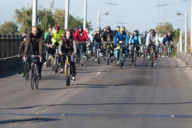 Nuo Vilniaus iki Kauno – dviračių žygis už Tibetą