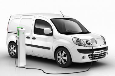 """Komercinių automobilių parodoje - """"Renault Kangoo Express Z.E."""""""