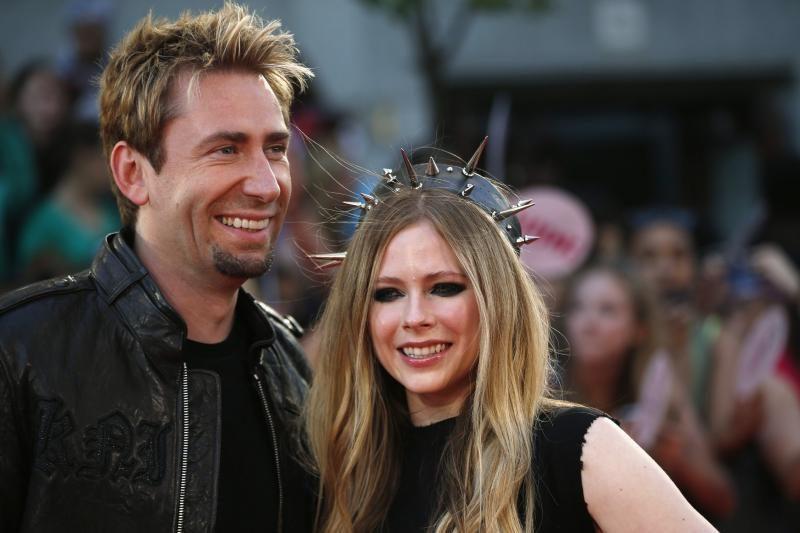 Avril Lavigne ir Chadas Kroegeris susituokė