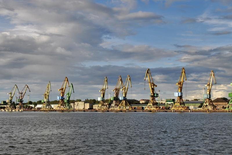 Klaipėdos uoste sulaikytas laivas