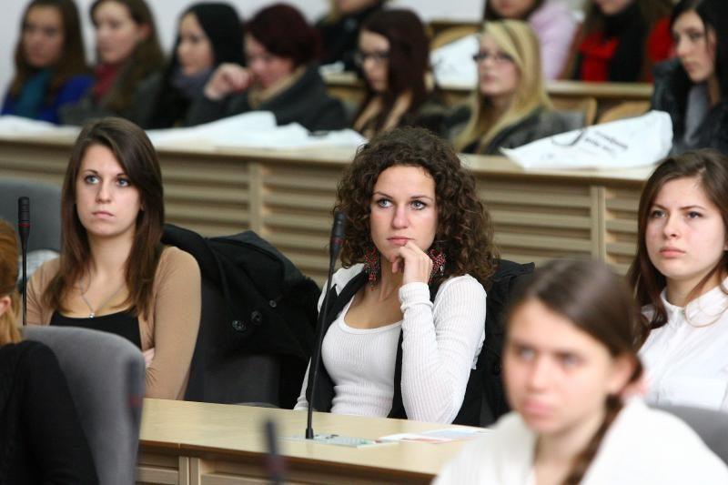 Moksleiviai į Kauną suvažiavo rinktis profesijos