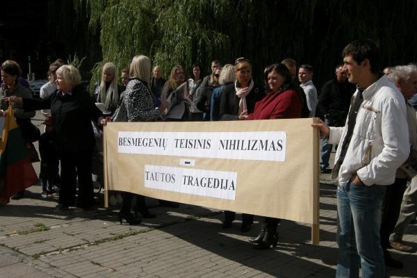 D.Kedžio gimtadienio dieną surengtas mitingas Kaune (papildyta)