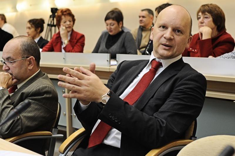 K.Kriščiūnas sustabdė narystę Socialdemokratų partijoje