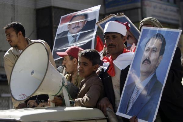 Jemeno sostinėje vyksta didelė demonstracija prieš režimą