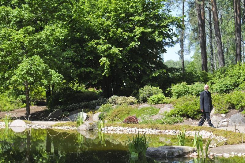 Atidarytas devynerius metus kurtas Tekančios Saulės šalies sodas