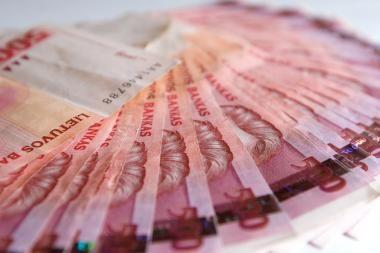 Vyriausybės rezervo fondas sumažės tris kartus