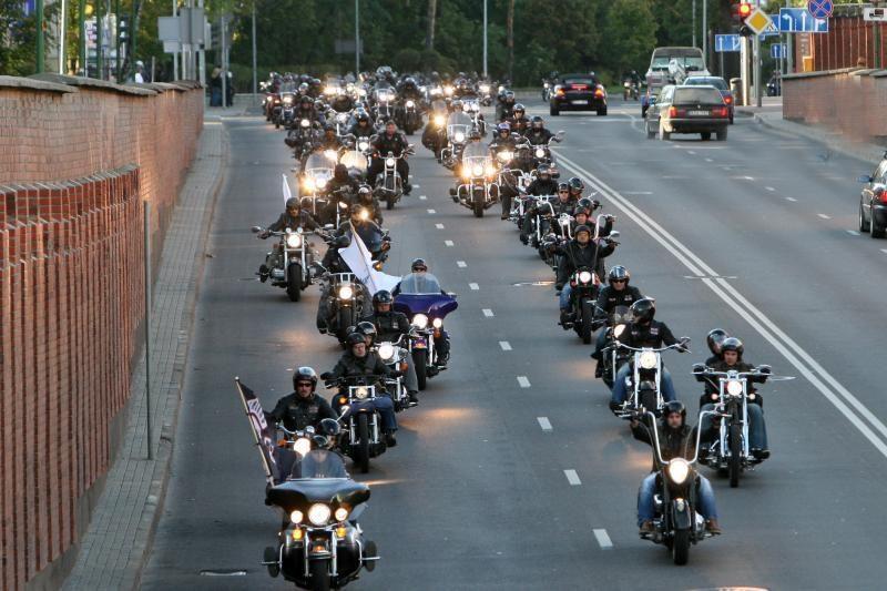 Motociklininkams Klaipėdoje leista važiuoti Manto gatve