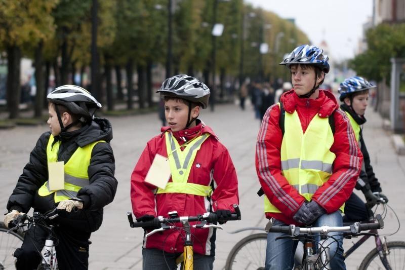 Olimpinę ugnį Kauno gatvėmis nešė sportininkai ir moksleiviai