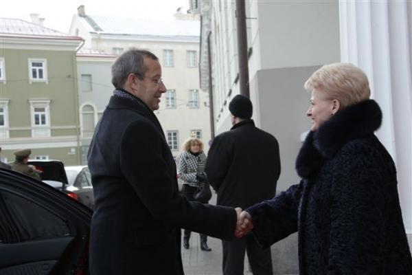 Baltijos šalių prezidentai kalbasi ir apie bendrą energetikos rinką