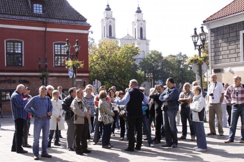 Kaune per pusmetį apsilankė beveik 80 tūkst. užsienio turistų