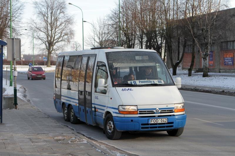 Klaipėdoje pradėjo kursuoti mažos talpos autobusas