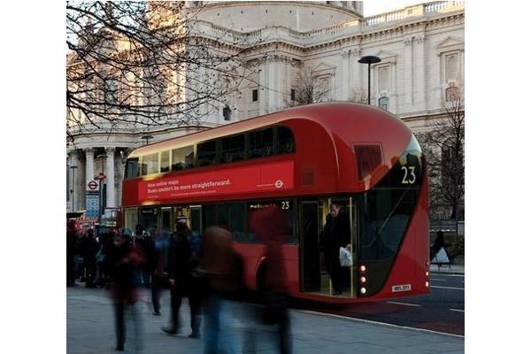 Olimpinėms žaidynėms – naujasis Londono dviaukštis