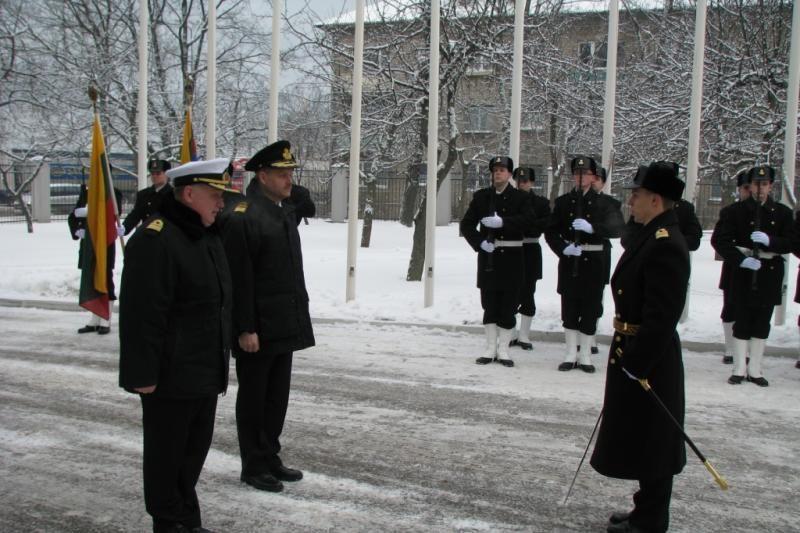 Klaipėdoje lankosi Danijos karinių pajėgų vadas