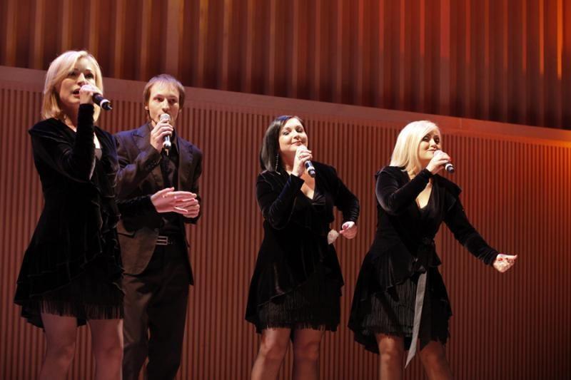 """Vokalinis kvartetas """"Cappella'A"""" išvyko į konkursą Kroatijoje"""