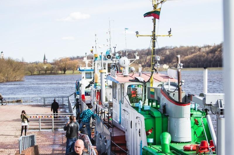 Laivai pakėlė inkarus kelionei Nemunu – startavo laivybos sezonas