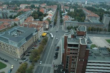 Klaipėdos architektai pristatė miesto problemas