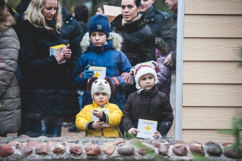 Kauno zoologijos sode duris atvėrė nauji namai ūdroms