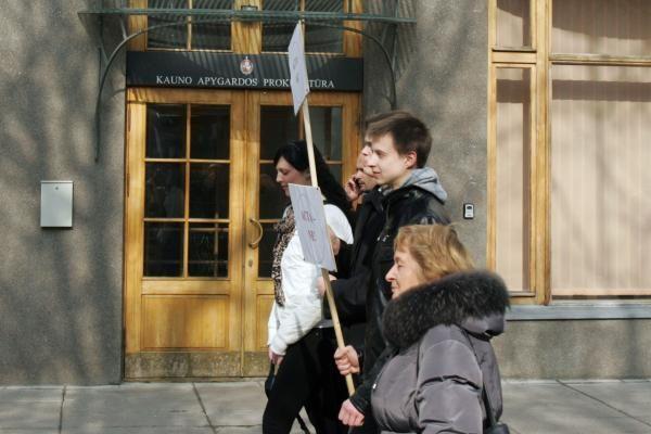 Kaune – dar vienas protestas prieš ACTA