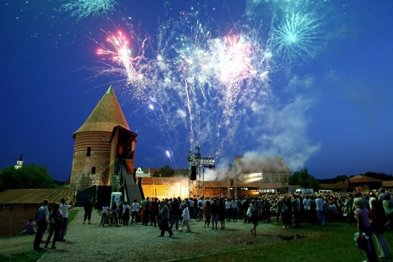 Kauno pilyje atgijo Vytauto Didžiojo laikai