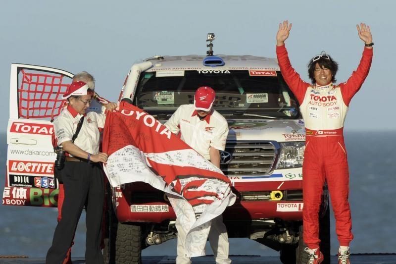 Argentinoje startavo 33-asis Dakaro ralis
