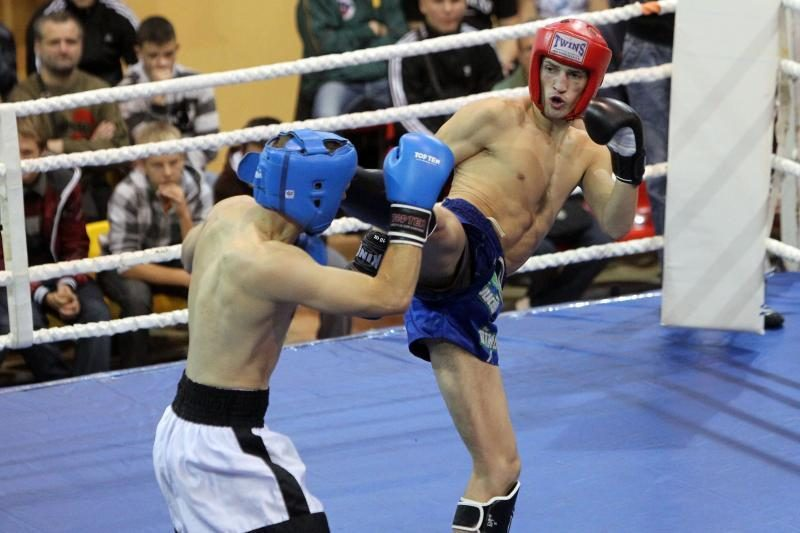 Lietuvos boksininkai susitiko su kanadiečiais