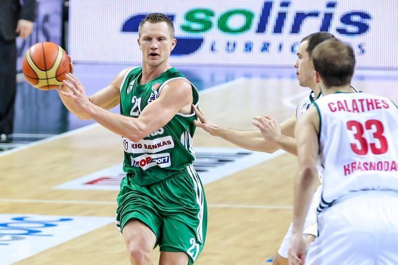 """""""Žalgiris"""" patiesė M. Kalniečio """"Lokomotiv-Kuban"""" ekipą (komentarai)"""