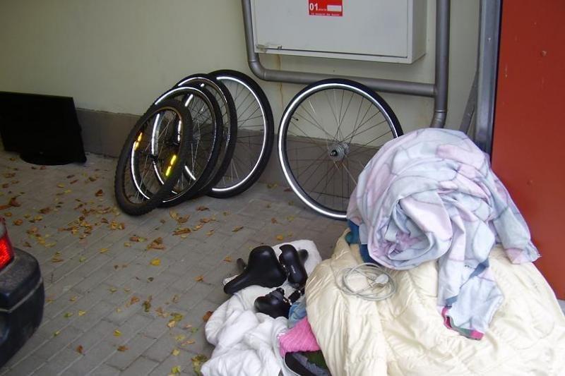 Uoste sulaikyti kėdainiškiai gabeno, įtarima, vogtus dviračius