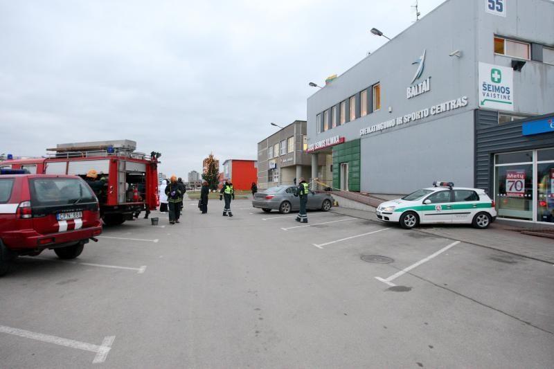 Dėl neaiškių chemikalų Kaune evakuoti žmonės nenukentėjo