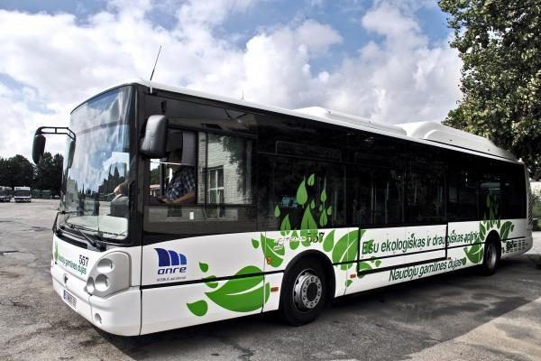 Naujas autobusas Klaipėdoje važinės tik savaitę
