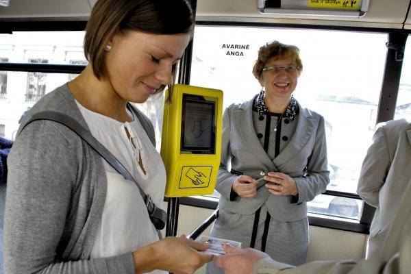 Nuo rugsėjo Klaipėdoje pradės veikti elektroninis kartinis bilietas