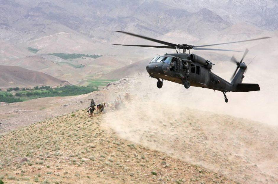 Afganistano šiaurėje per aviacijos smūgį nukautas vienas iš Talibano vadų