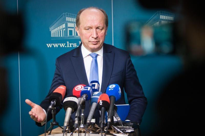 Naujo vidaus reikalų ministro paskyrimas užtruko