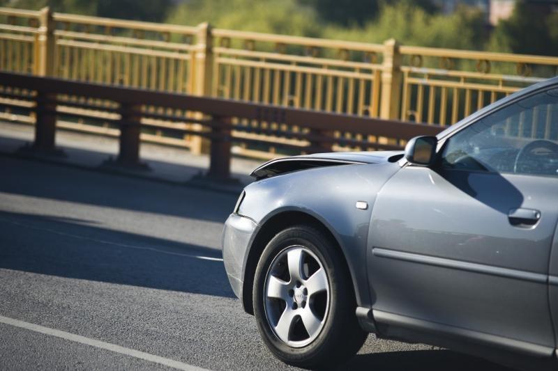 Ant P.Vileišio tilto ryte susidūrė septyni automobiliai