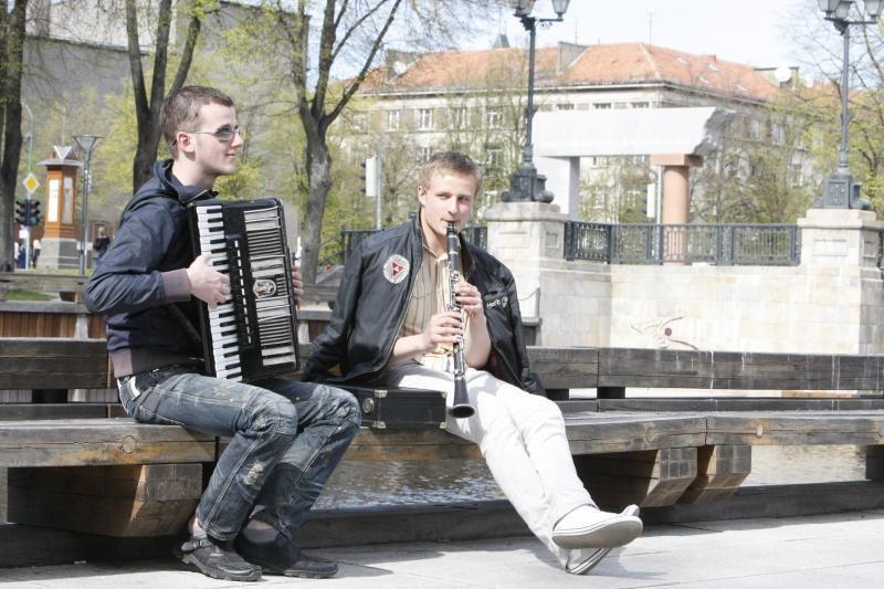 Gatvės muzikos dieną Klaipėdoje siūloma organizuoti visą vasarą