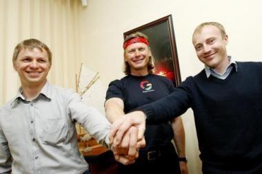 Baltijos jūrą žada įveikti baidarėmis